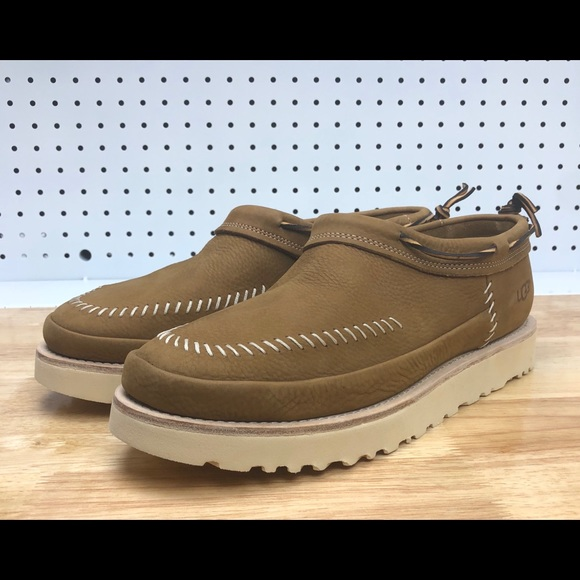 0ae79e0f3a9 New UGG Nubuck Campfire Slip On Shoes Chestnut NWT